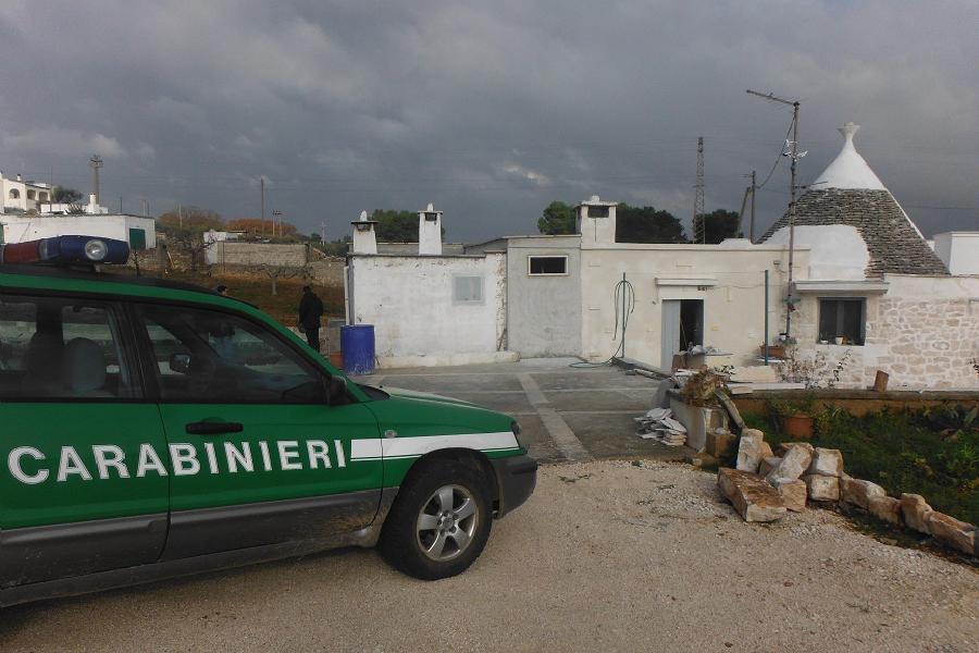 Abusivismo e lavoro nero in Valle d'Itria
