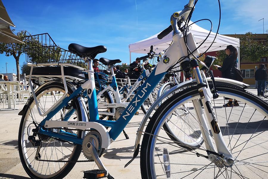 Bike sharing: da ieri attivo a Statte