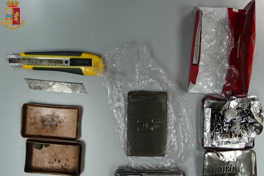 Eroina in tasca: arrestato dai Falchi