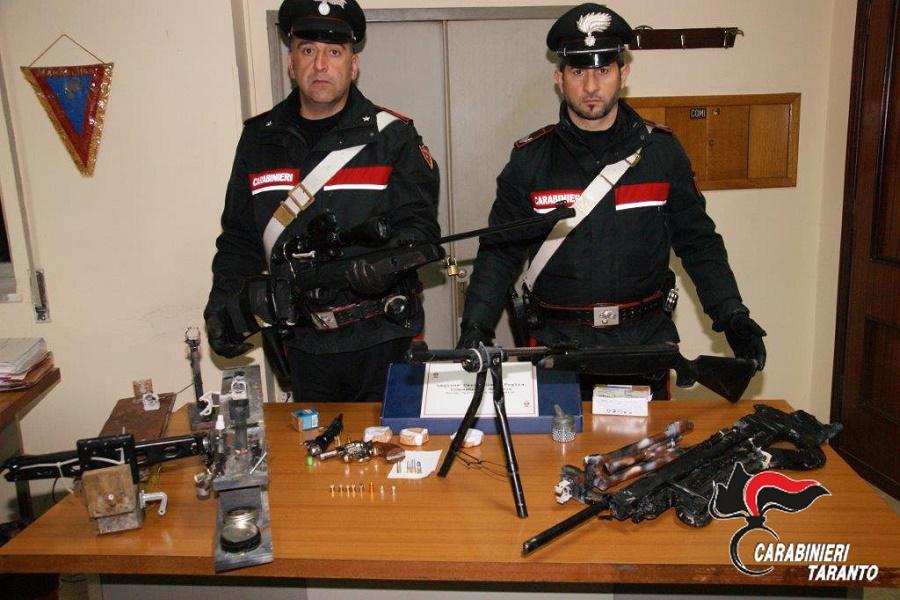 Armi clandestine e munizioni: in manette 46 enne