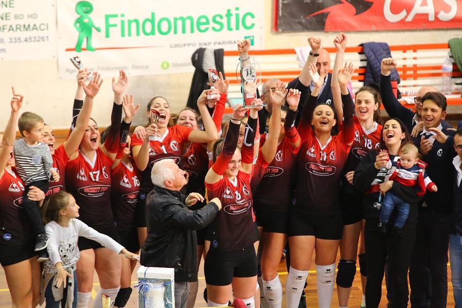 Il volley Castellaneta è campione di Puglia