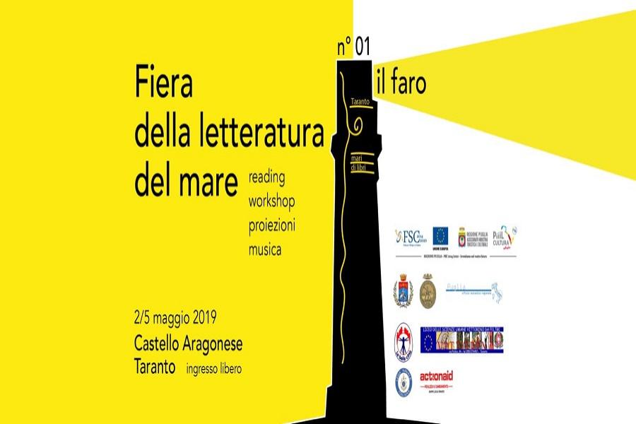 """""""Taranto due mari di libri"""": al via la seconda edizione"""
