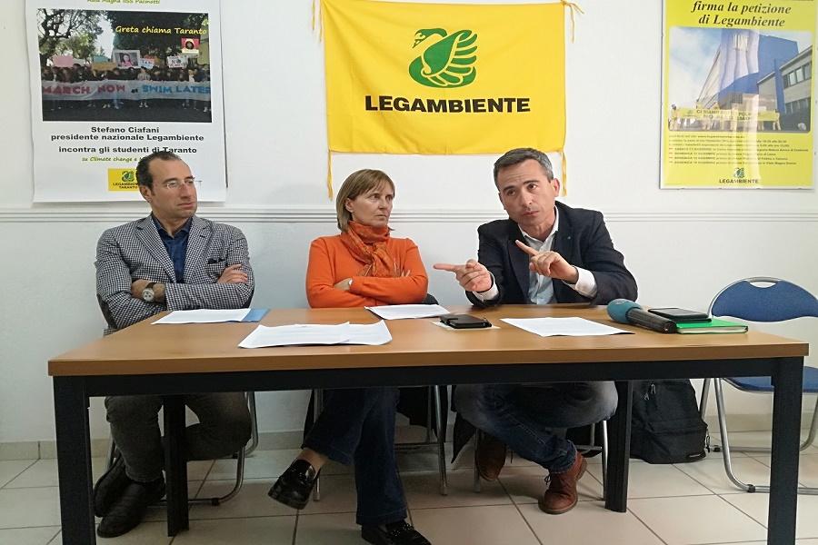 Legambiente presenta il Dossier Taranto