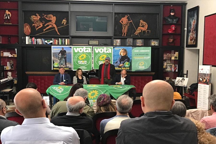 I candidati di Europa Verde incontrano Pino Aprile