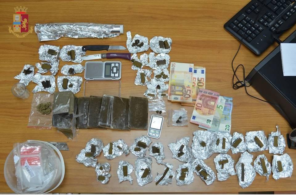 Operazione antidroga: tre arresti