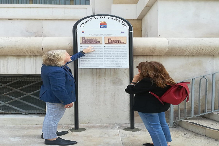 Taranto: pannelli informativi davanti ai 4 edifici storici
