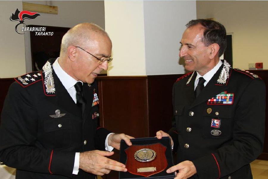 CC. Il Generale Nistri al Comando di Taranto