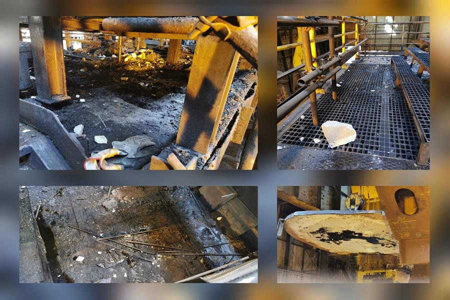 """Incidente acciaieria 2, USb Taranto: """"La sicurezza dei lavoratori affidata alla fortuna"""""""