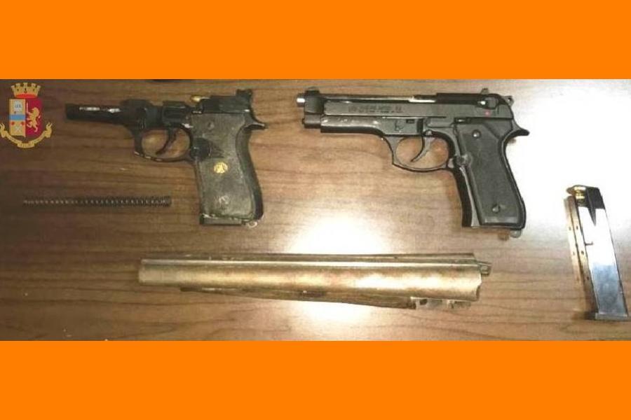 Armi clandestine: denunciati due fratelli