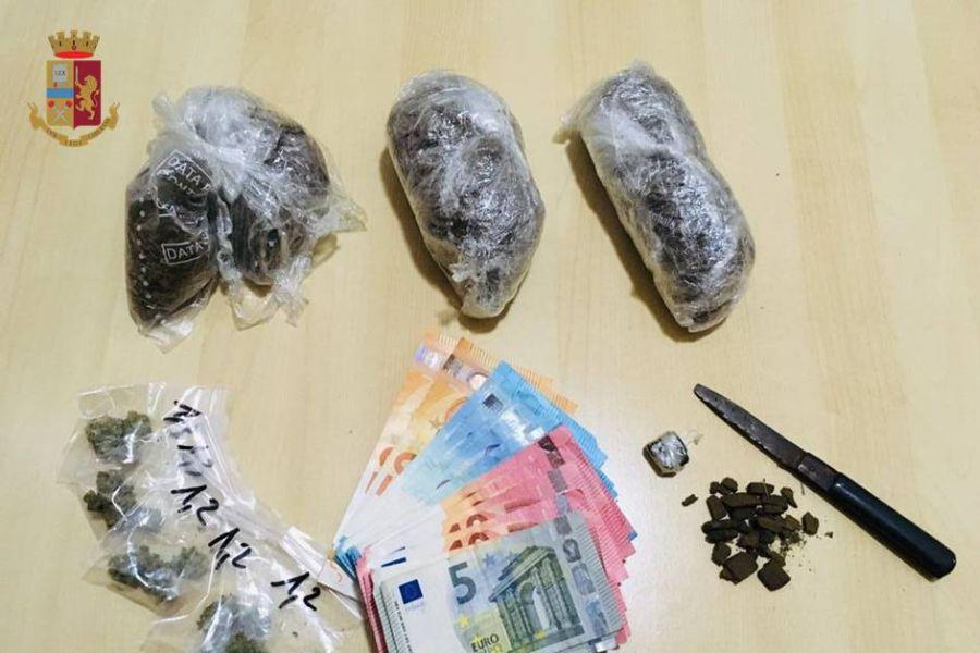 Polacco arrestato per droga