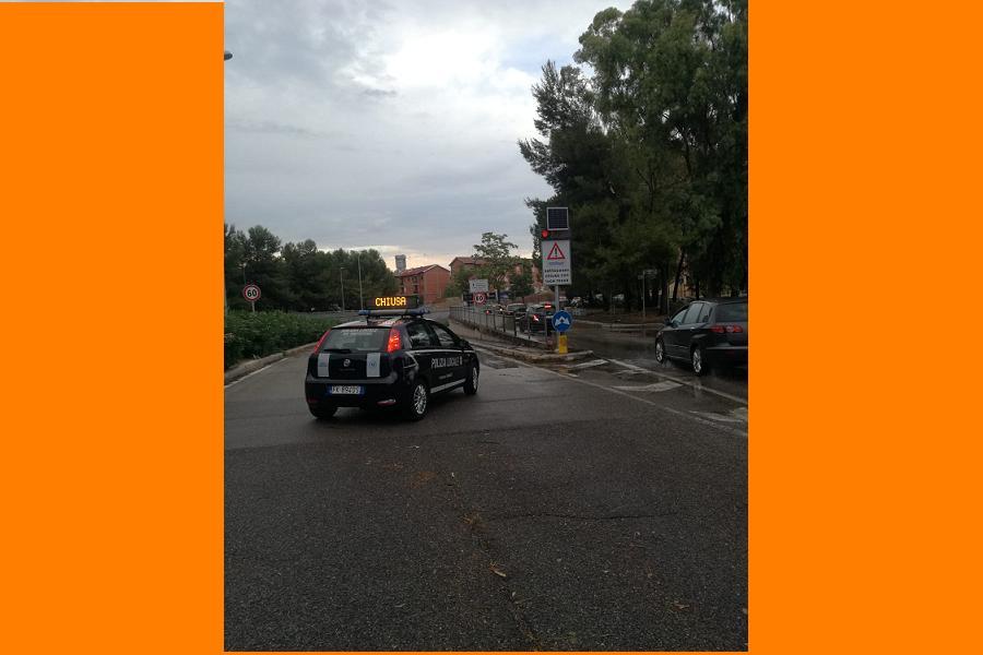 Nubifragio: l'intervento del Comune