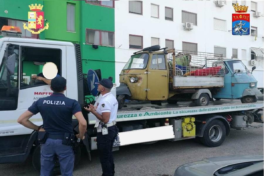 Controlli congiunti tra la Polizia e Comune