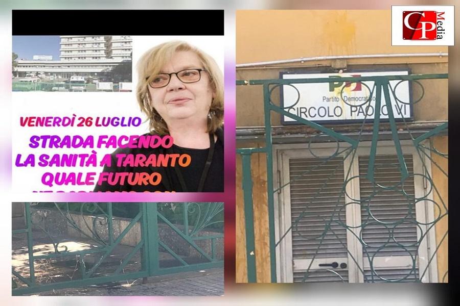 Circolo PD Paolo VI: atti vandalici contro la sede