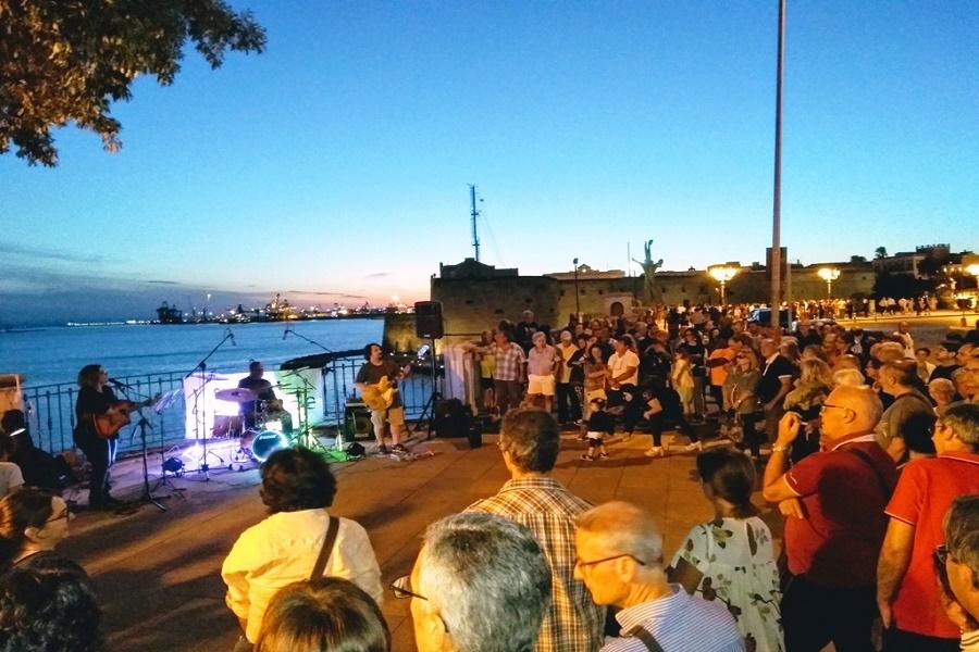 Lungomare di Taranto: le sette degustazioni musicali