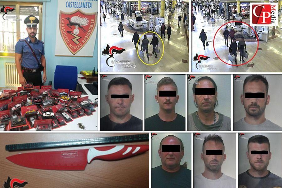 """Operazione """"Fures"""": 7 arrestati e 2 ricercati"""