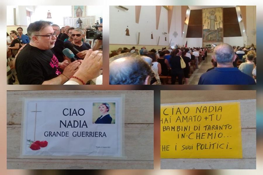 Taranto ricorda Nadia Toffa