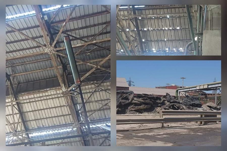 ArcelorMittal, Usb: rischio crollo tetto ACC1