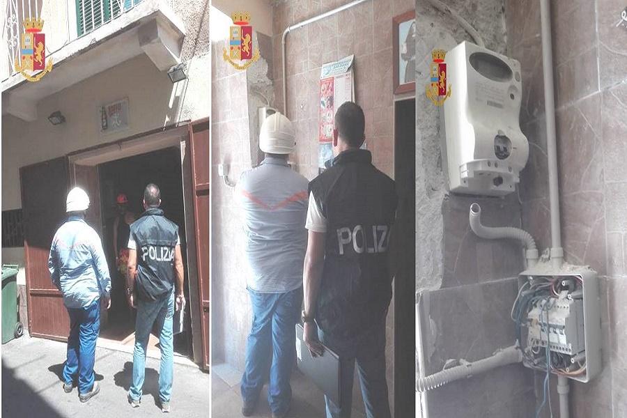 Furto di energia in Città vecchia: tre persone denunciate