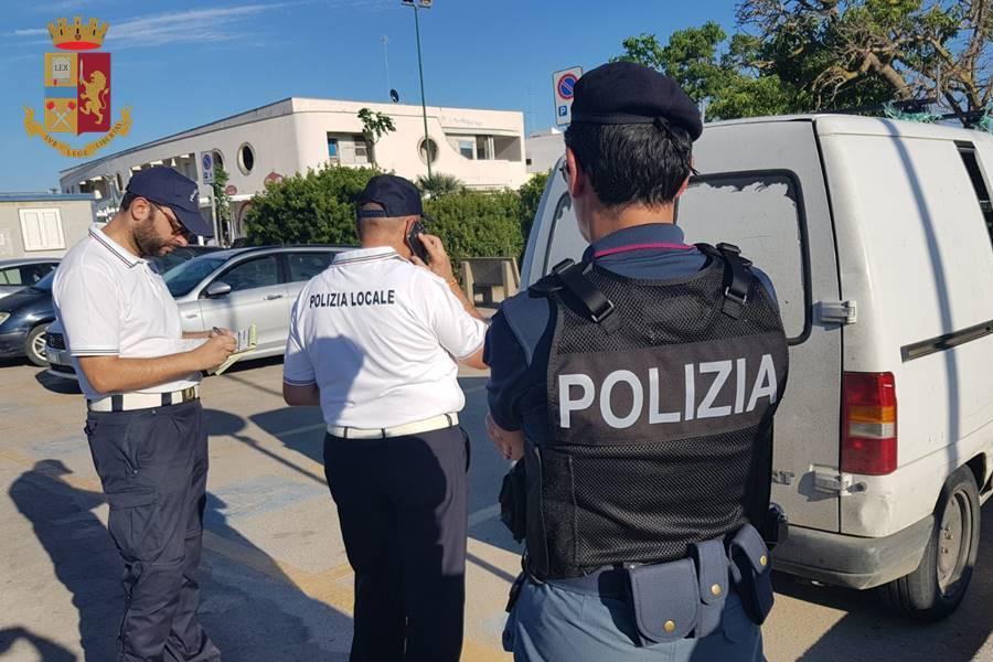 """""""Comunità Sicure"""": controlli sulla Litoranea Salentina"""