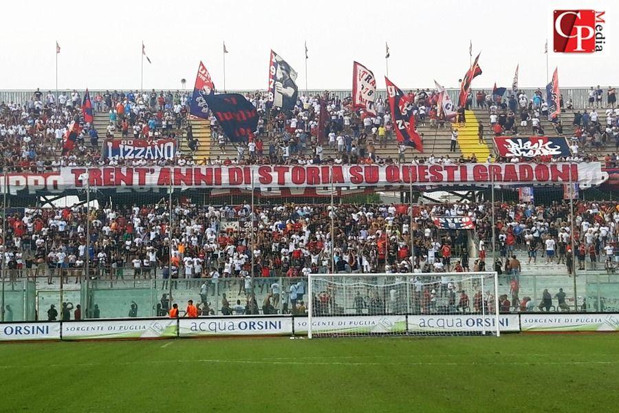 Calcio, vittoria esterna per il Taranto FC