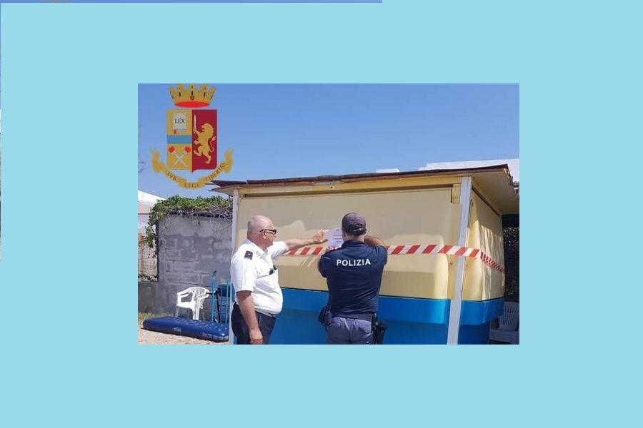 Controlli della Polizia a Lizzano