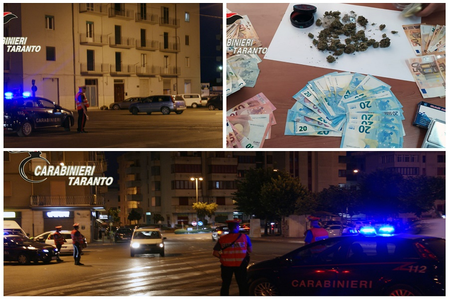"""""""Alto impatto"""": i carabinieri presidiano le strade"""