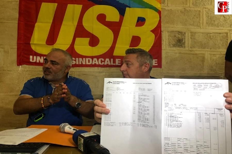 """Ex Ilva lavoratore licenziato, Usb Taranto: """"Atto inqualificabile"""""""