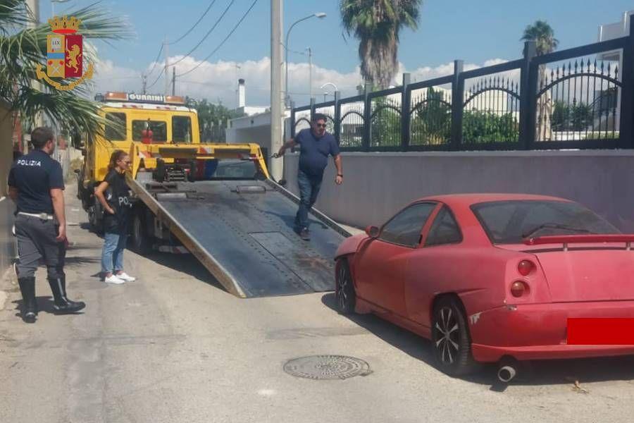 Autofficina e autocarrozzeria abusive a Lama