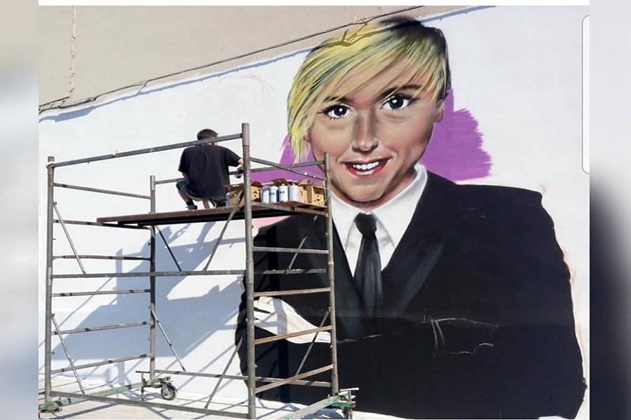 Un murale per Nadia