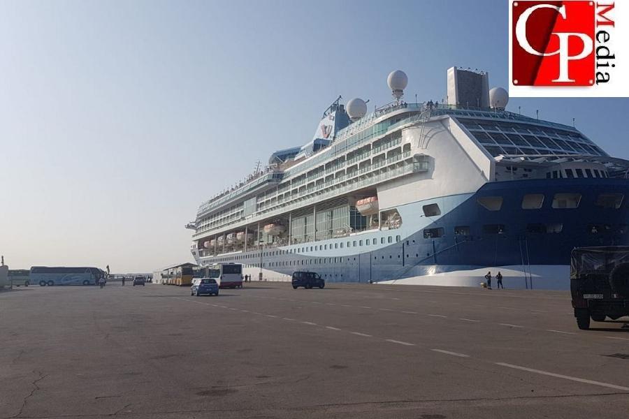 A Taranto Nave Marella Discovery
