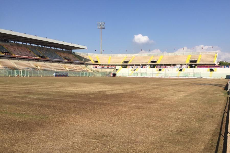 Stadio Iacovone: lavori in corso