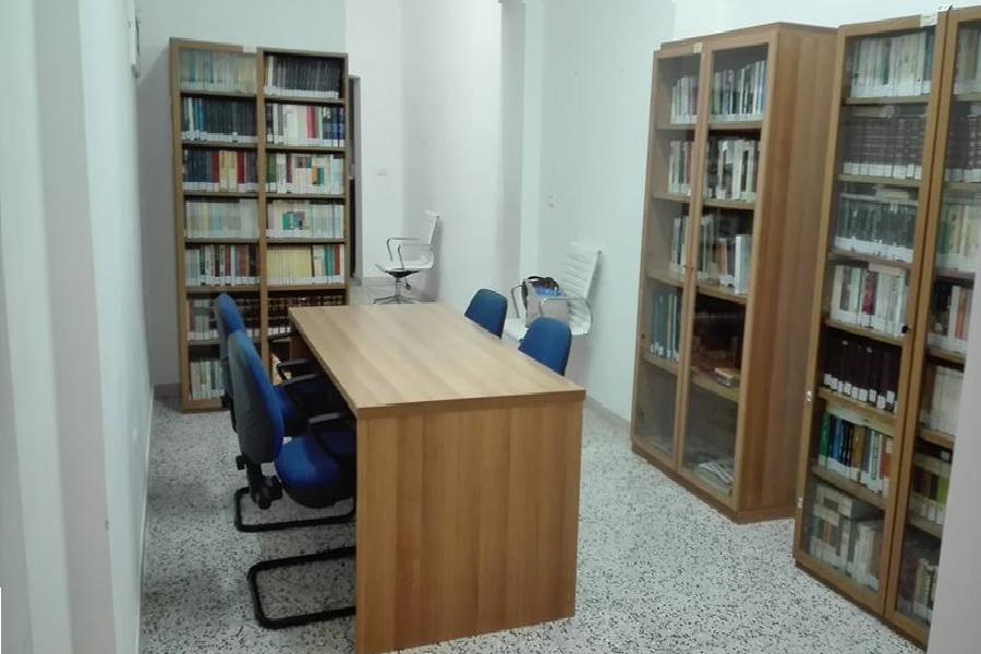La biblioteca Civica a Ginosa Marina