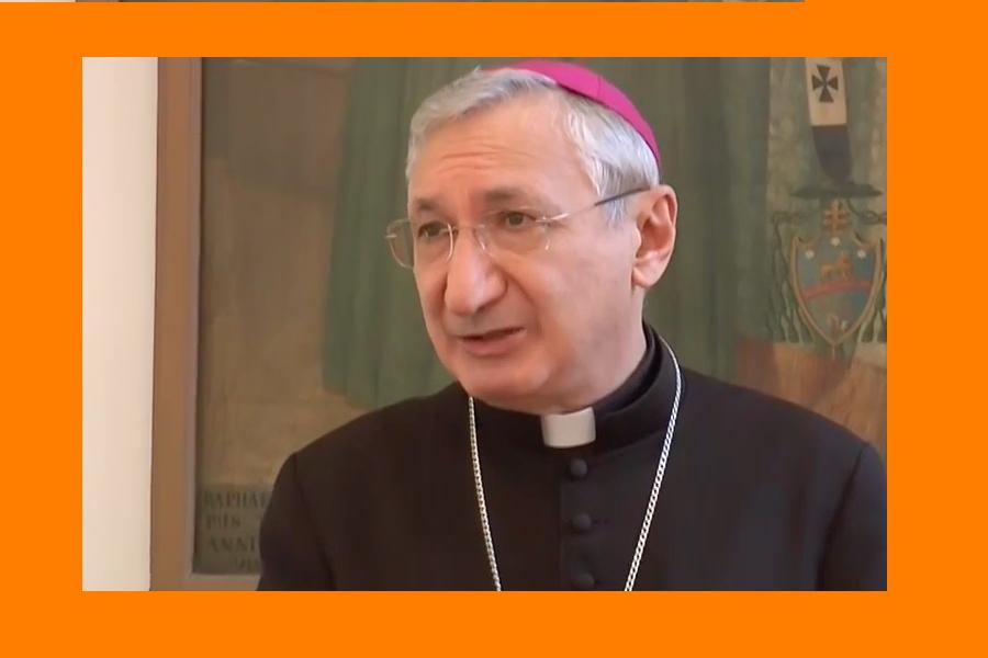 """Monsignor Santoro: """"Interpretazioni strumentali"""""""