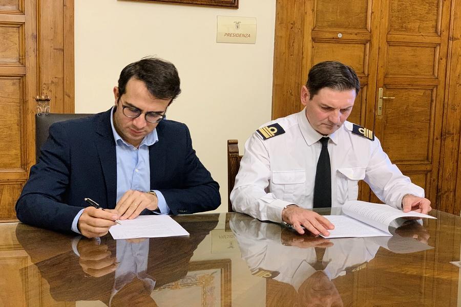 Provincia e Marina Militare: accordo per attività sportive del Battaglini