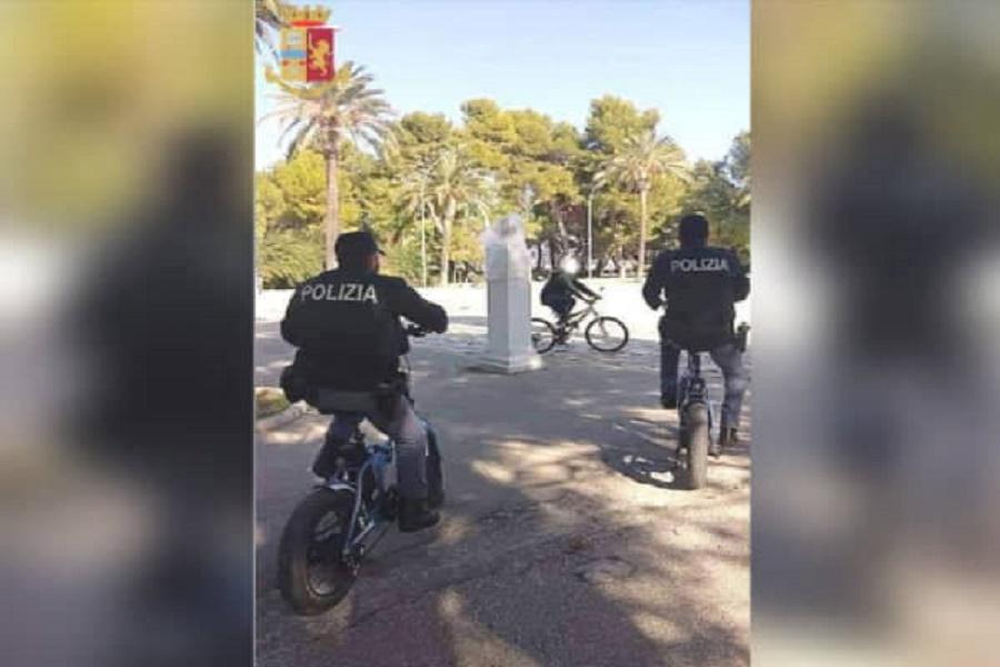Controlli in Villa Peripato: denunce e sanzioni
