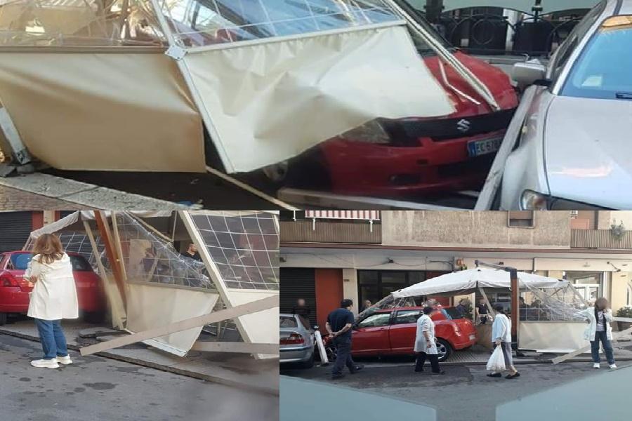 Incidente nel centro cittadino