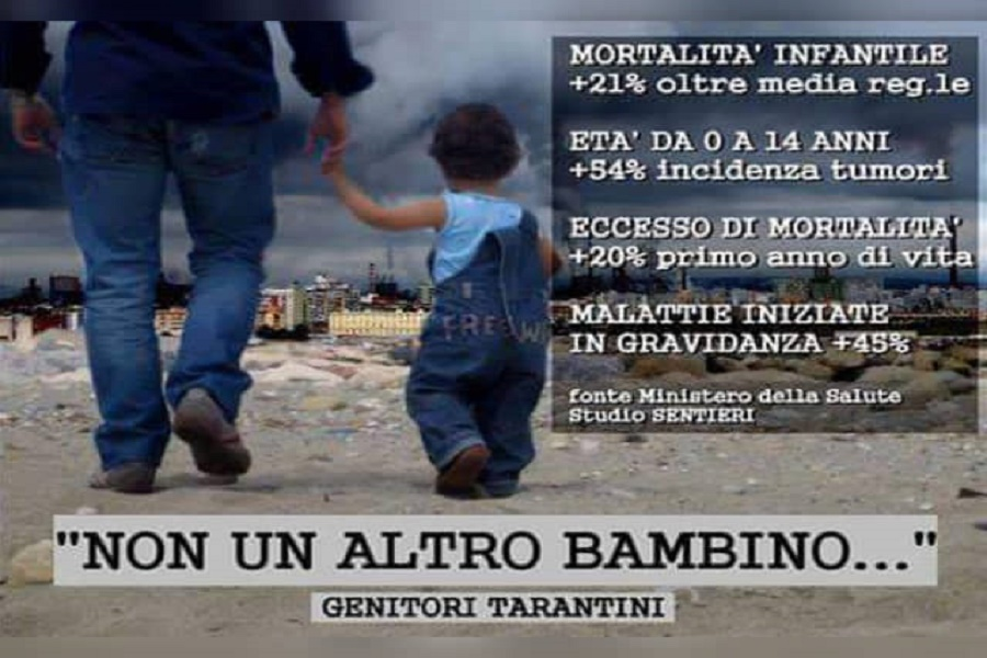 """Genitori tarantini alle mamme di Cornigliano: """"I nostri figli sono i vostri"""""""