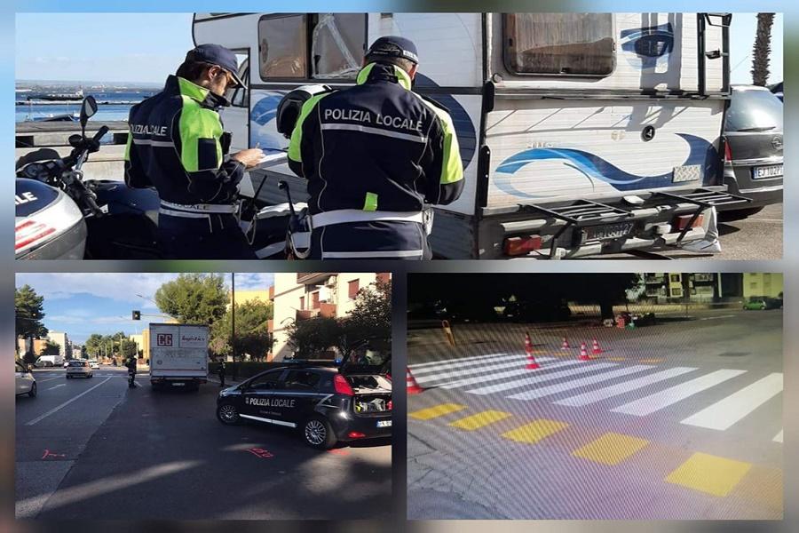 Taranto, controlli serrati della Polizia: 5 sanzioni