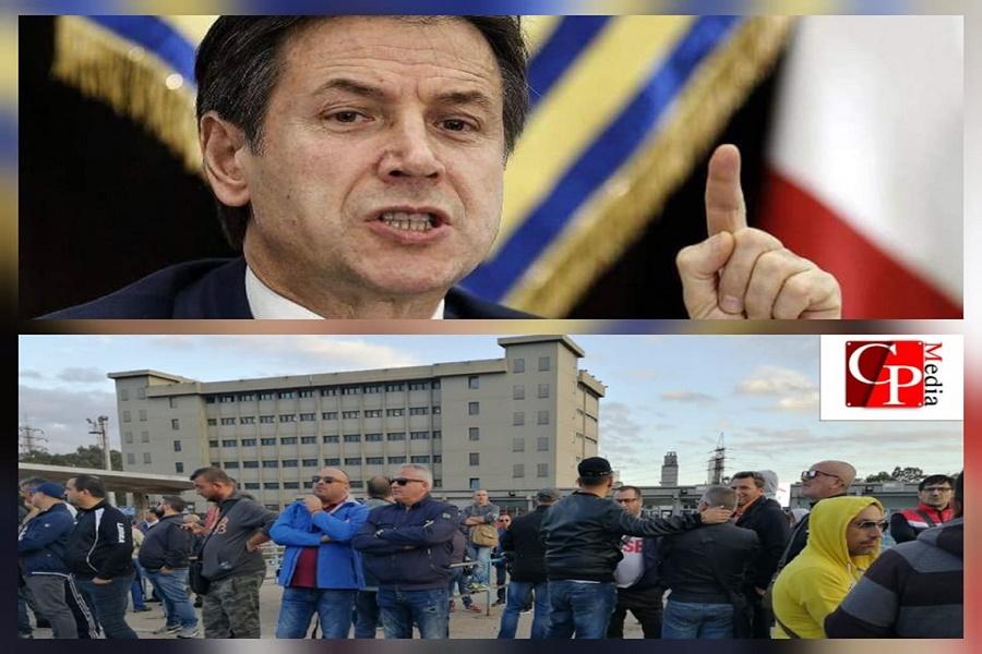 """Ex Ilva, Conte: """"Il governo non rischia di cadere"""""""