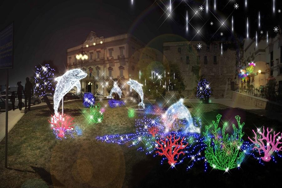 Natale a Taranto: arrivano le luminarie d'artista