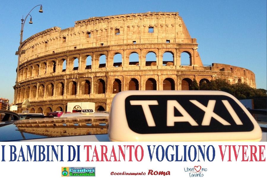 """""""Taxi Roma per Taranto"""": parte la campagna a favore dei bambini"""