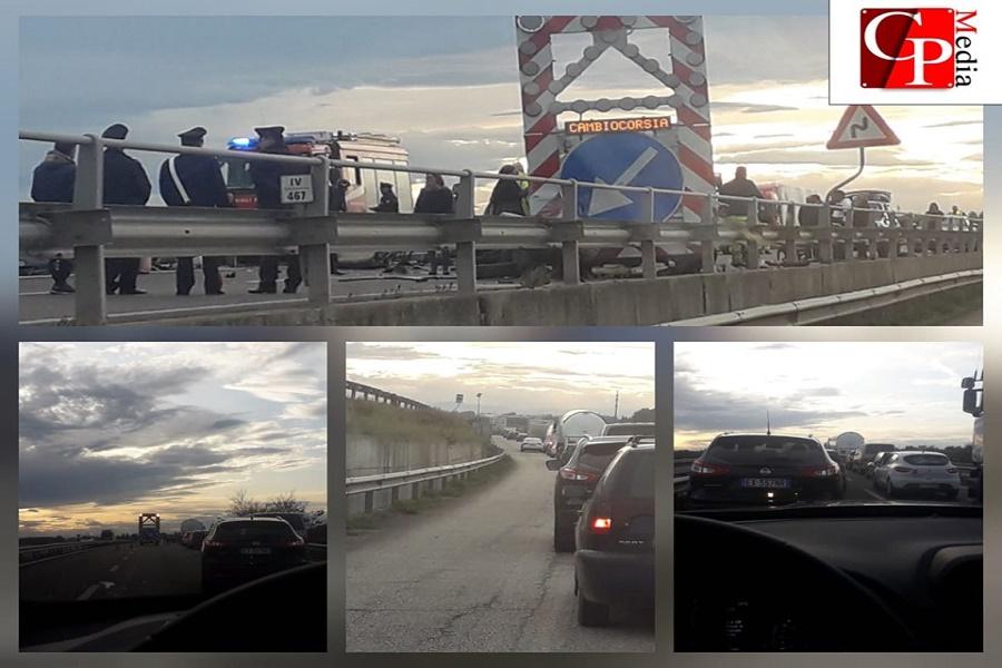 Taranto, incidente mortale sulla Statale 106