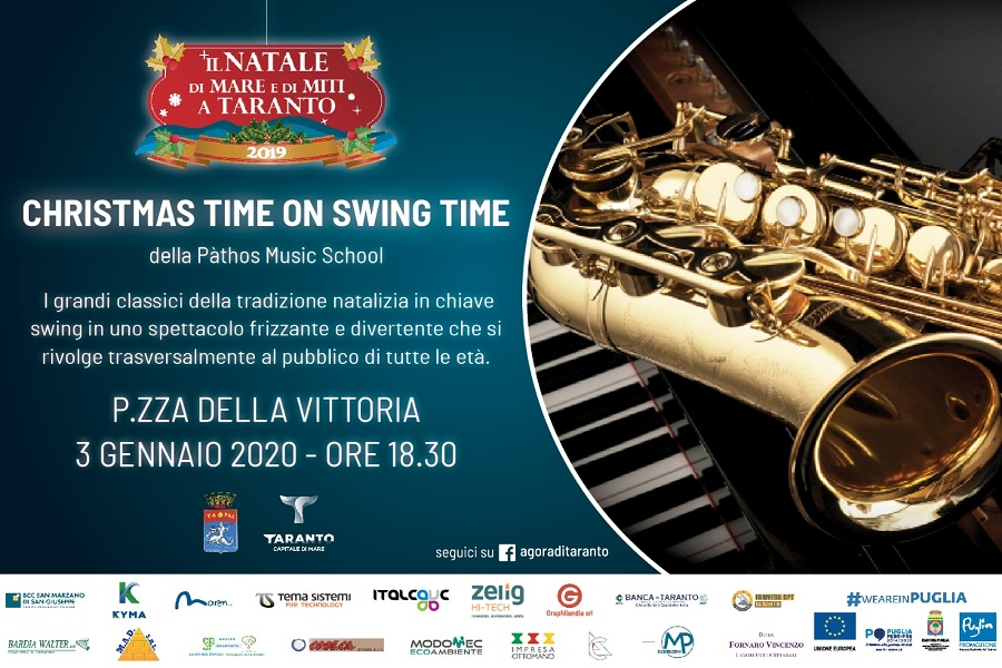 """A Christmas time on Swing"" a Piazza della Vittoria"