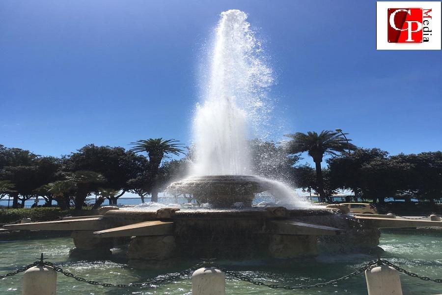 Nuova luca e manutenzione per la fontana di piazza Ebalia