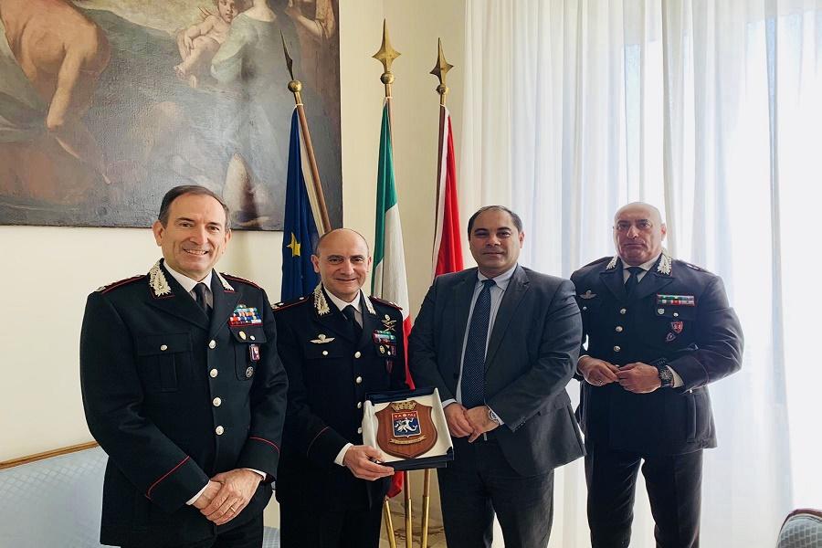 Taranto, avvio Scuola Allievi Carabinieri