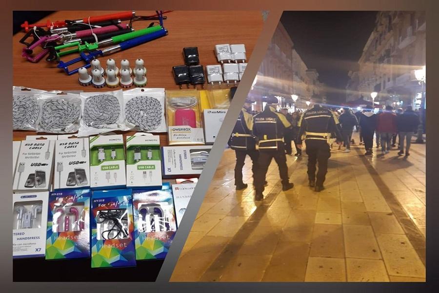 Taranto, lotta all'abusivismo commerciale