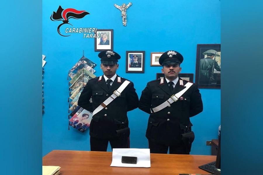 Spaccio a Carosino: arrestato operaio incensurato