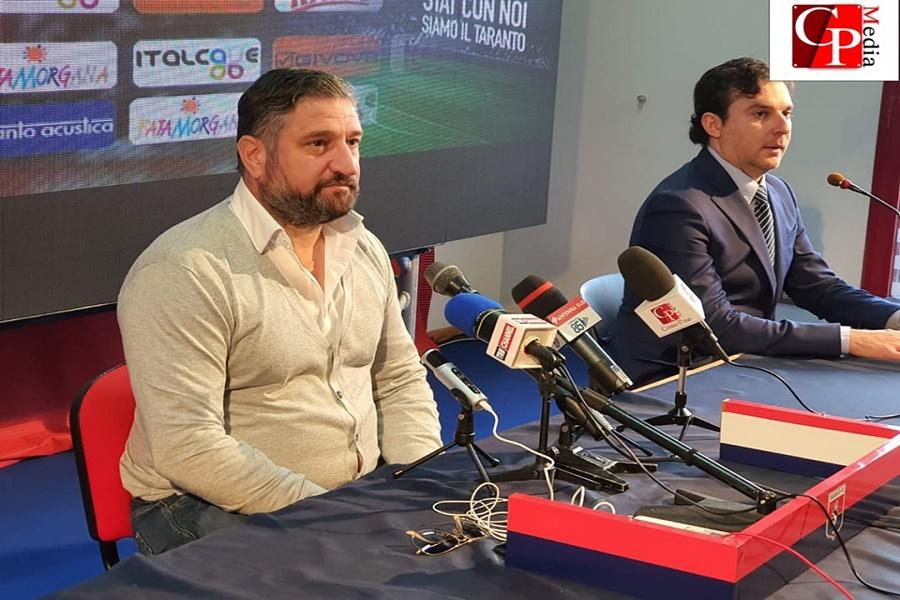 De Santis, atto intimidatorio: il direttore del Taranto interviene