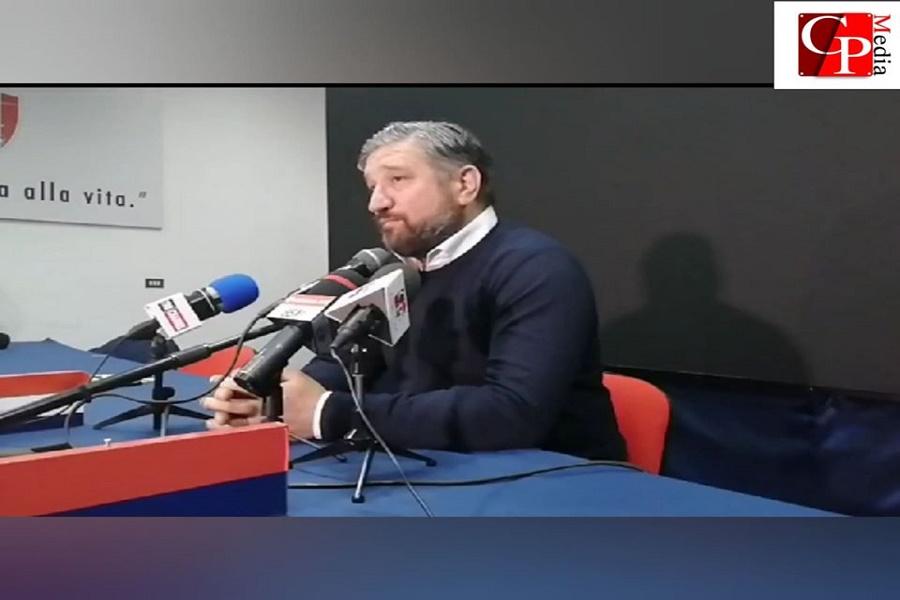 """De Santis: """"Gesto vile. Se qualcuno vuole il Taranto, si faccia avanti"""""""
