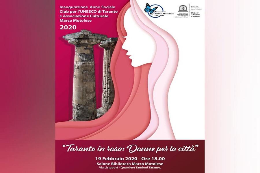 """Taranto in rosa: """"Donne per la città"""""""
